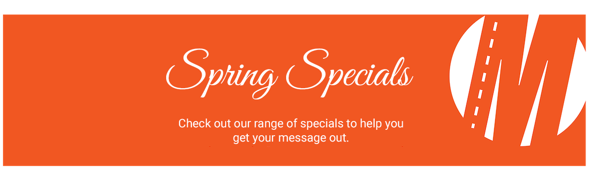 Spring 2020 Mobile Advertising Specials