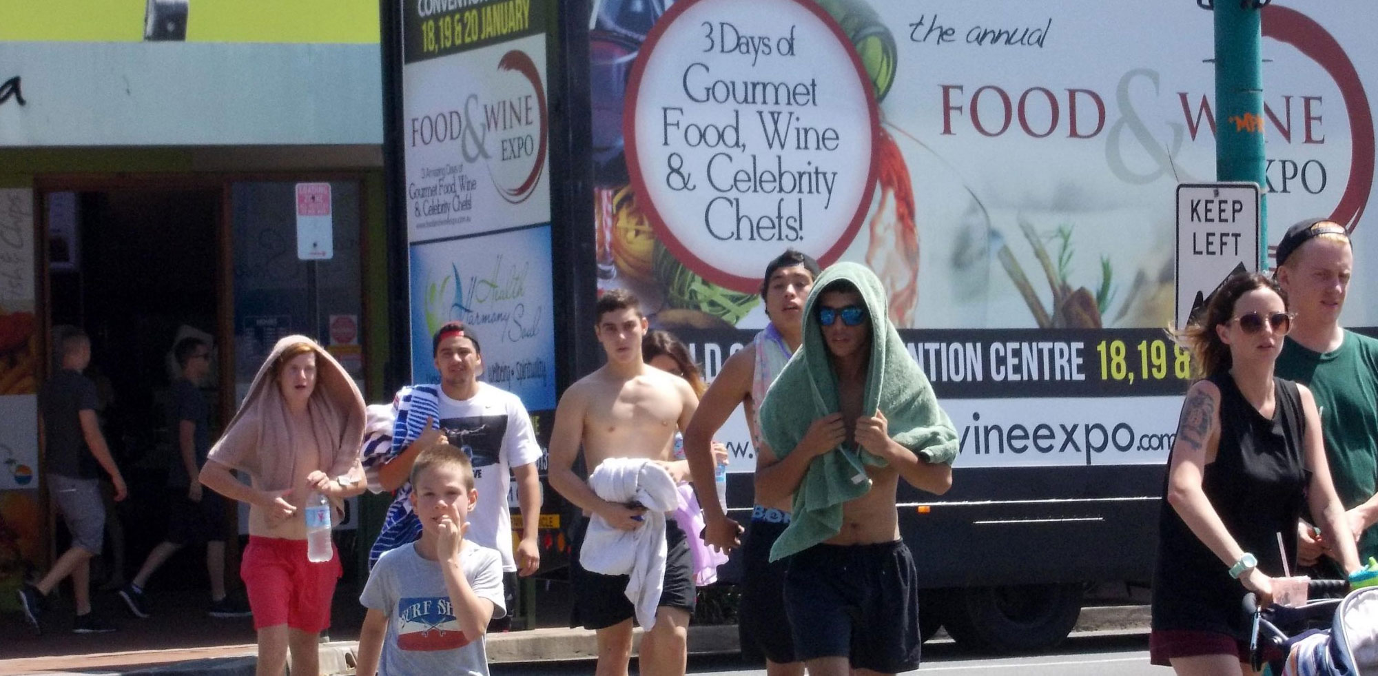 Mobile Billboard for GC Food & Wine Expo